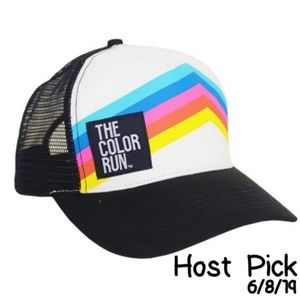 The Color Run Trucker Hat One Size Fits Most